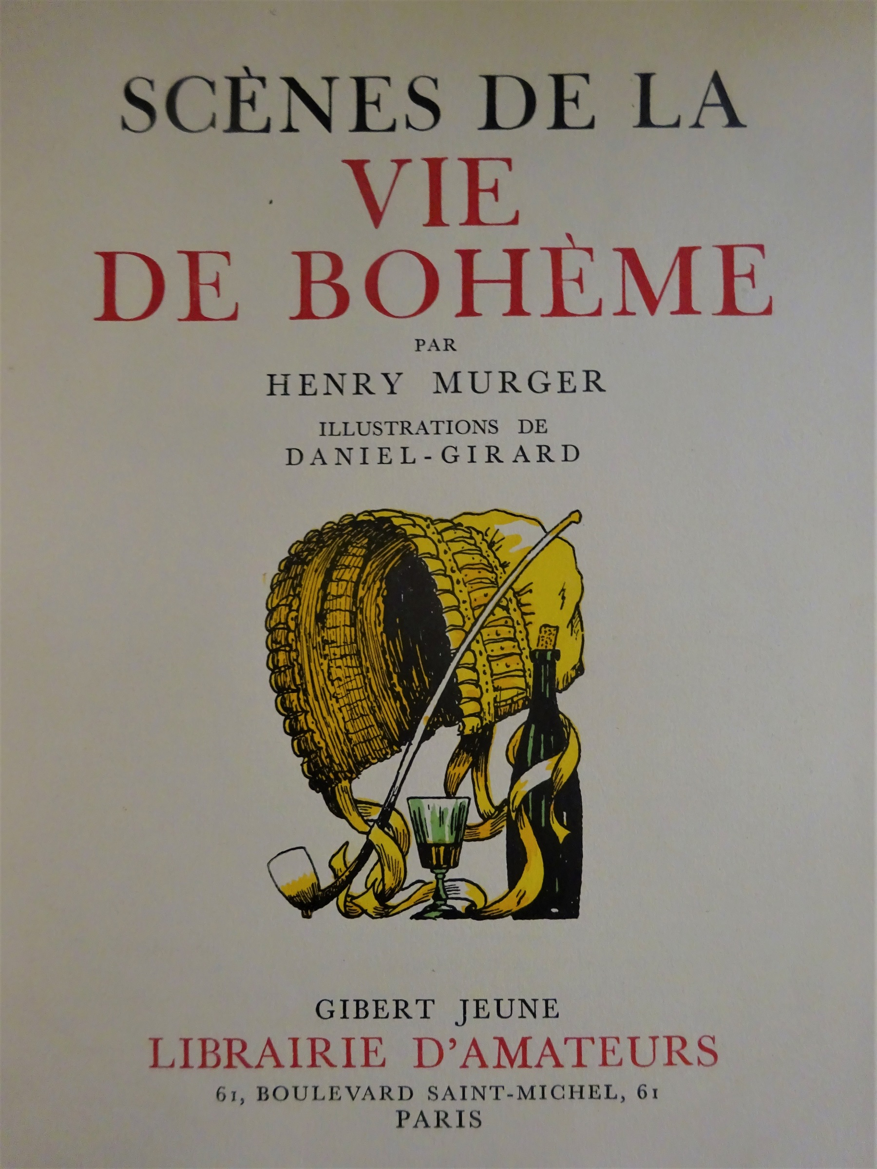 Scènes de la vie de Bohème 1939