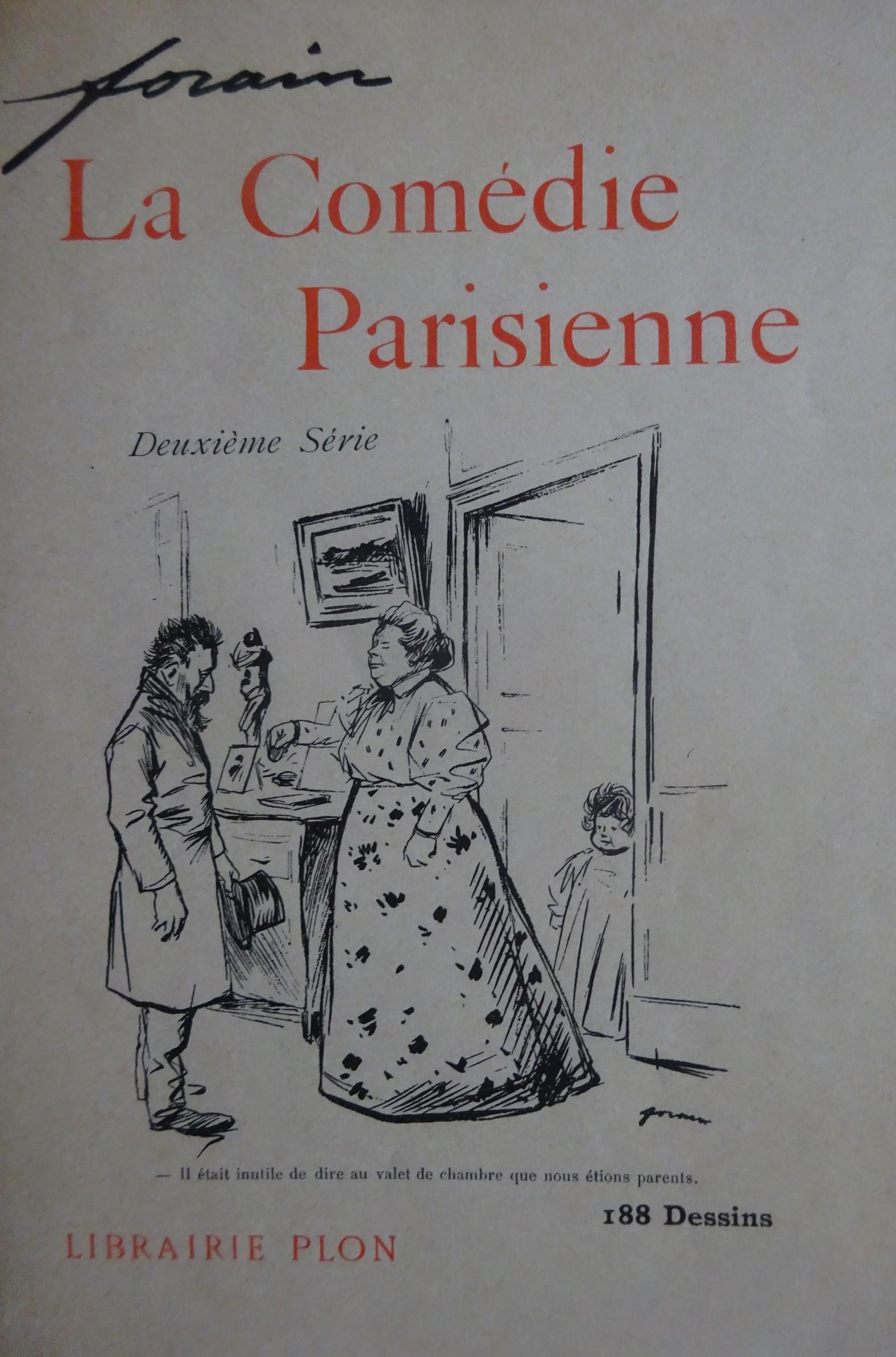 La Comédie parisienne. Deuxième série sur chine