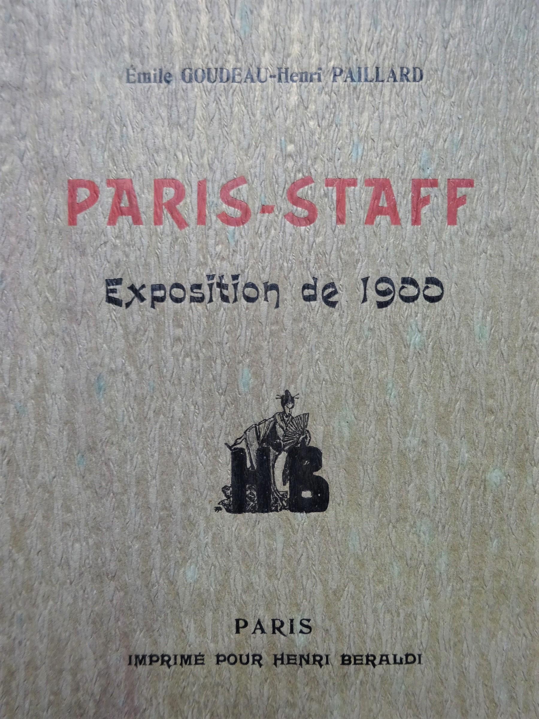 Paris-Staff Exposition de 1900