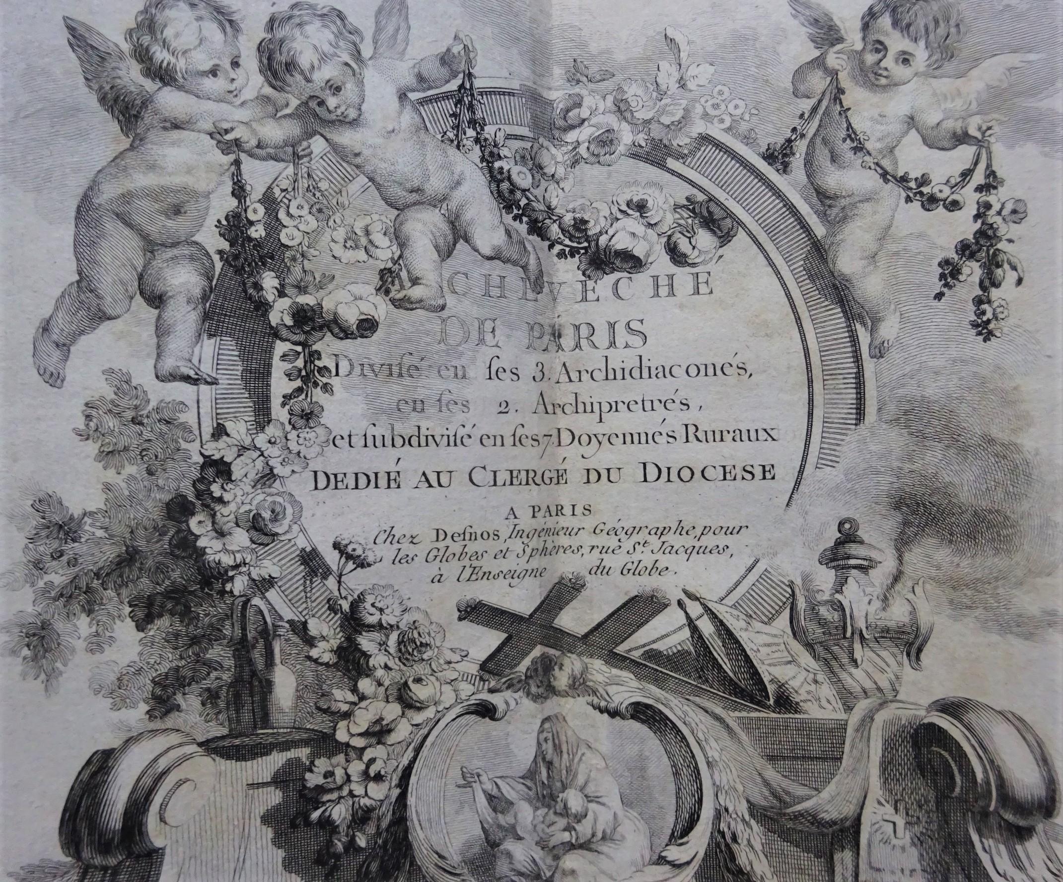 Etrennes ecclesiastiques historiques et topographiques de l'archevêché de Paris