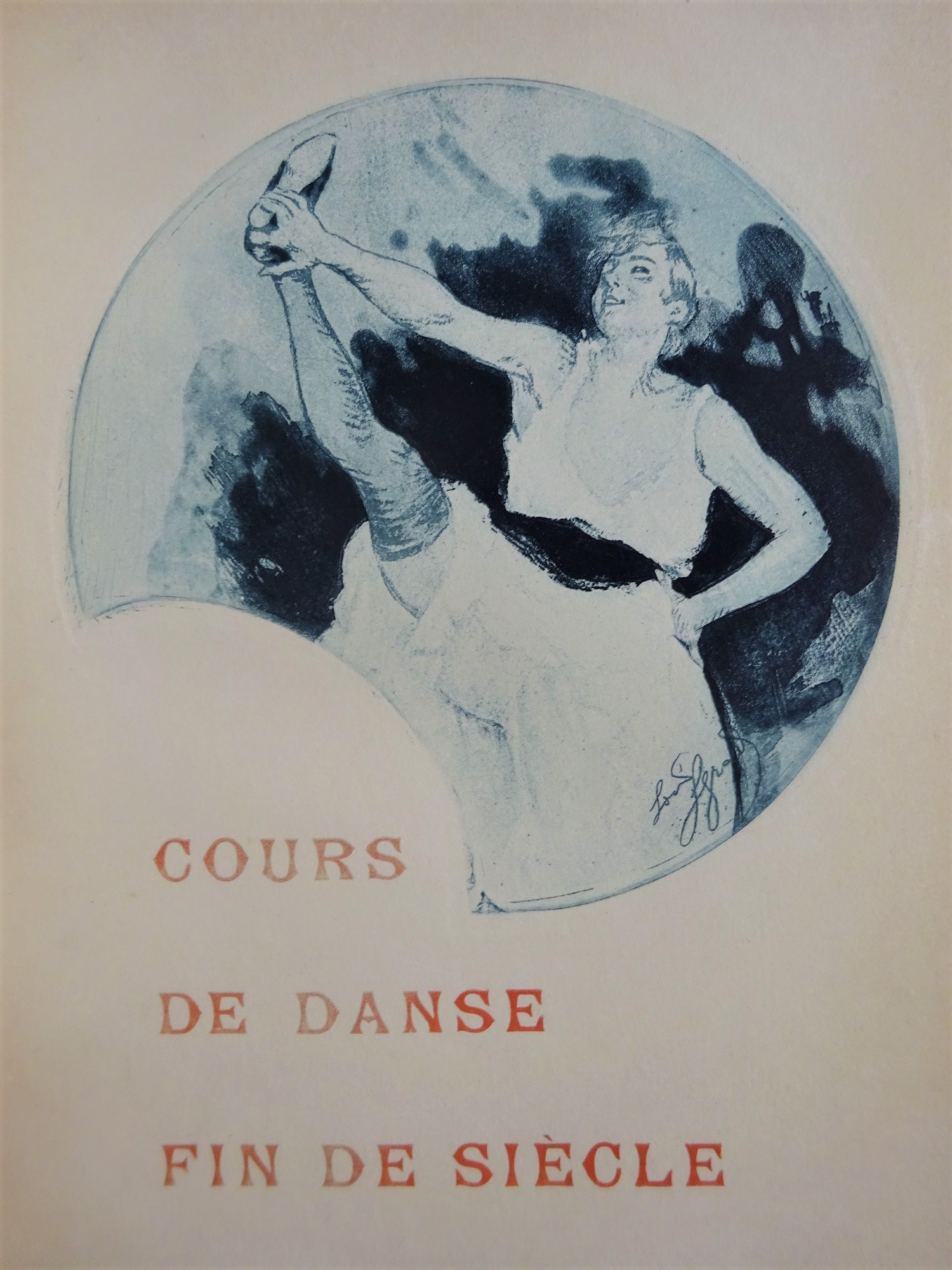 Cours de danse fin de siècle