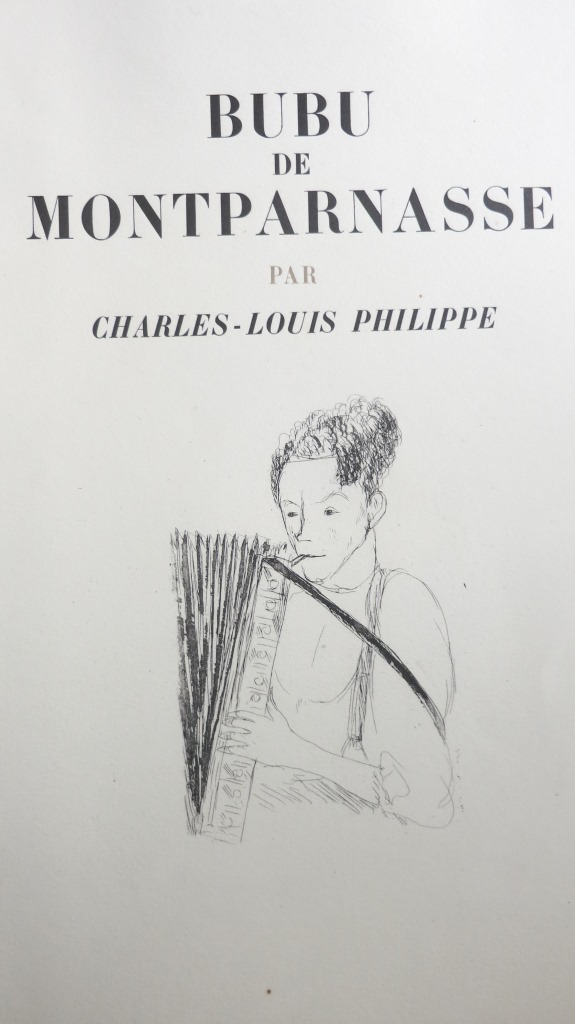 Bubu de Montparnasse 1929