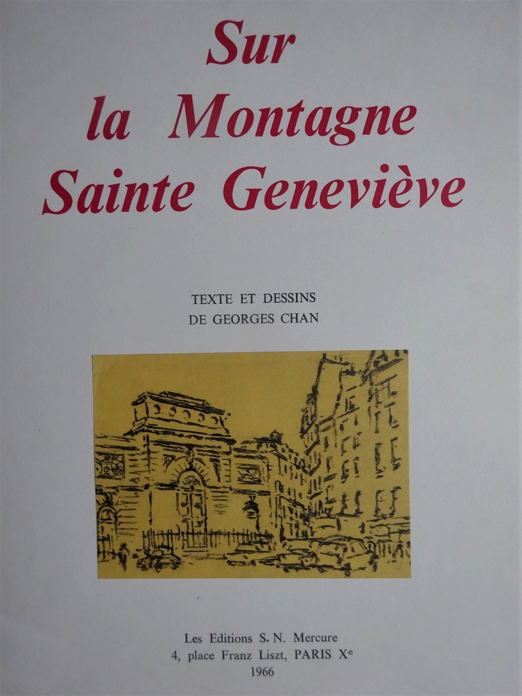 Sur la montagne Saint Geneviève