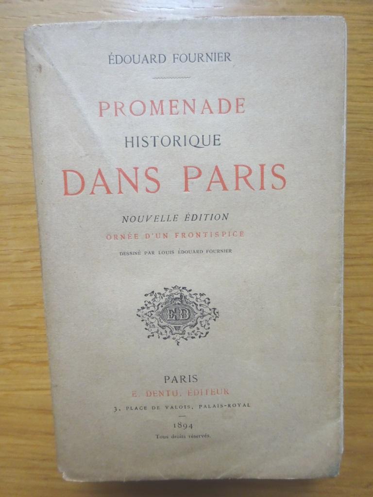 Promenade historique dans Paris. Nouvelle édition.