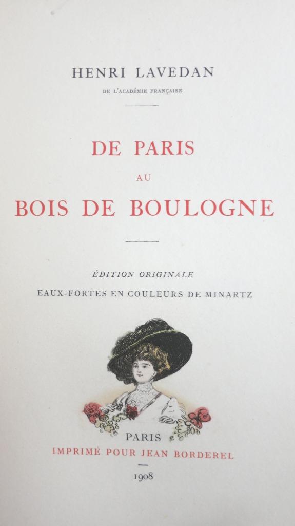 De Paris au Bois de Boulogne