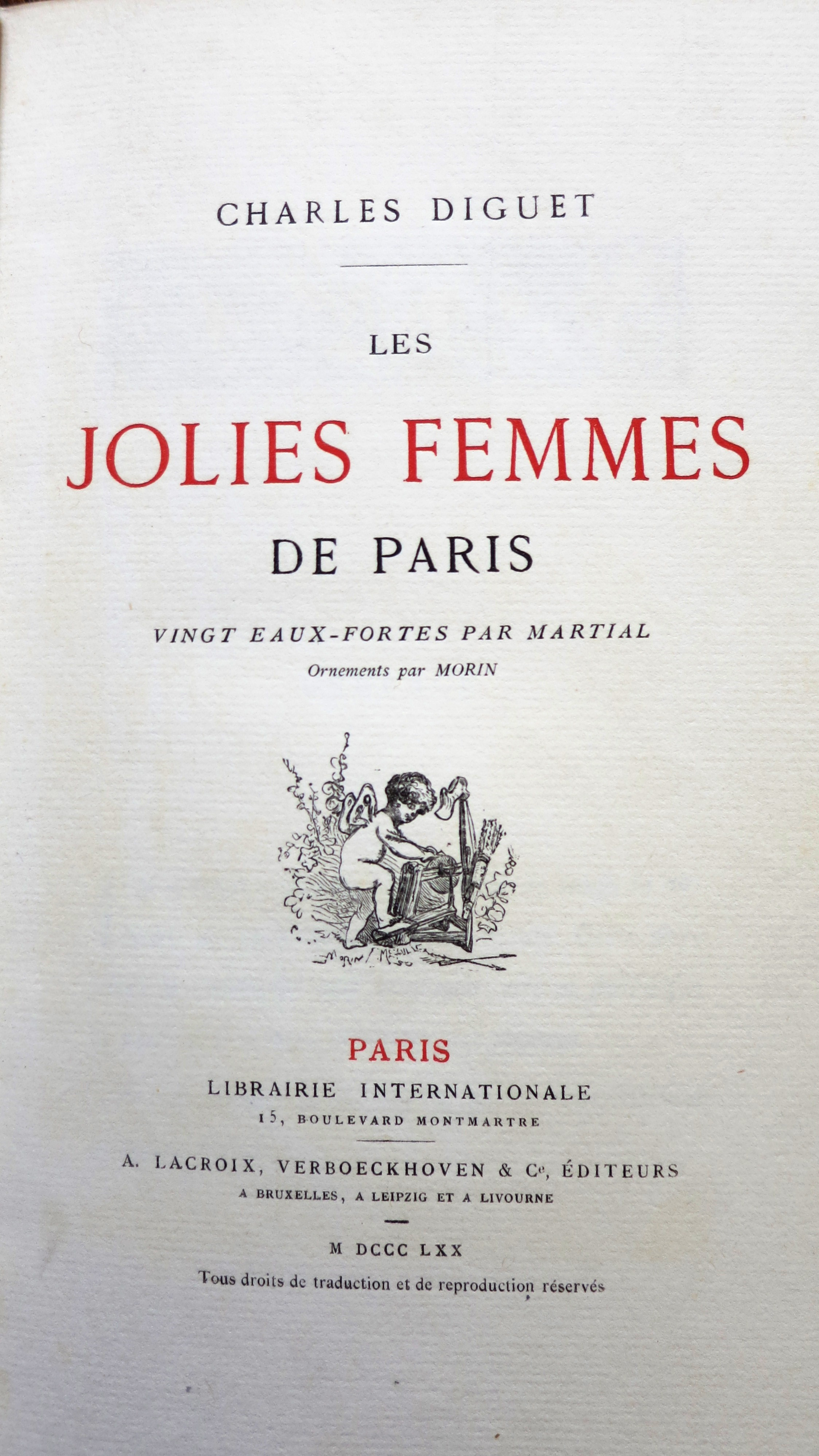 Les jolies femmes de Paris