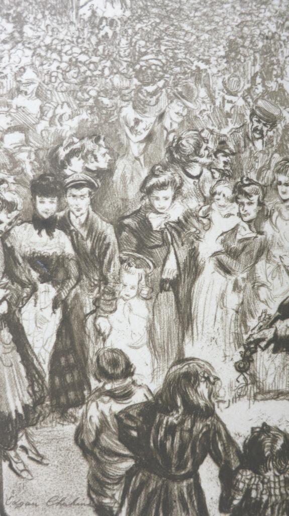 Fêtes foraines. Illustrations d'Edgar Chahine