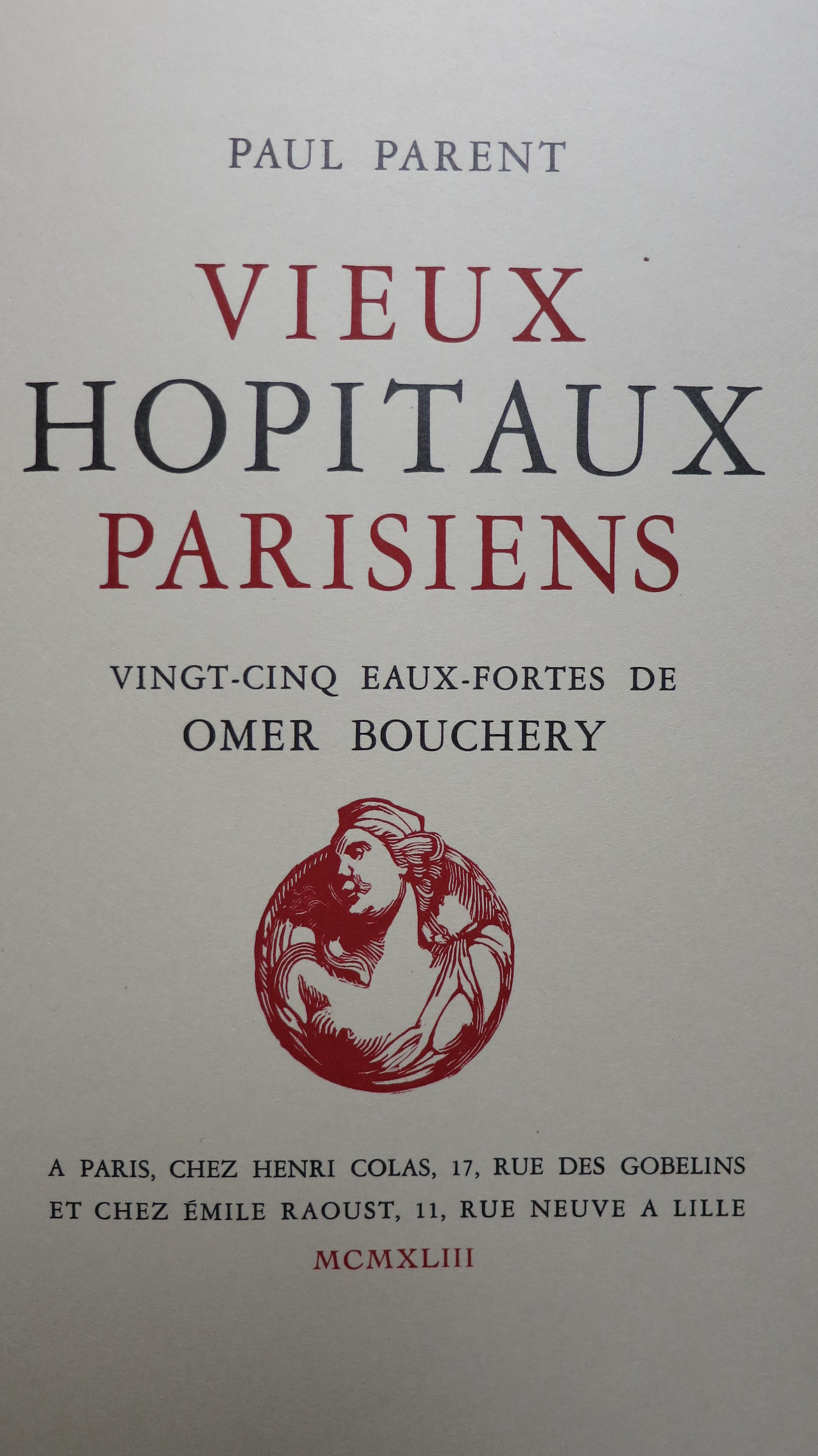 Vieux hôpitaux parisiens