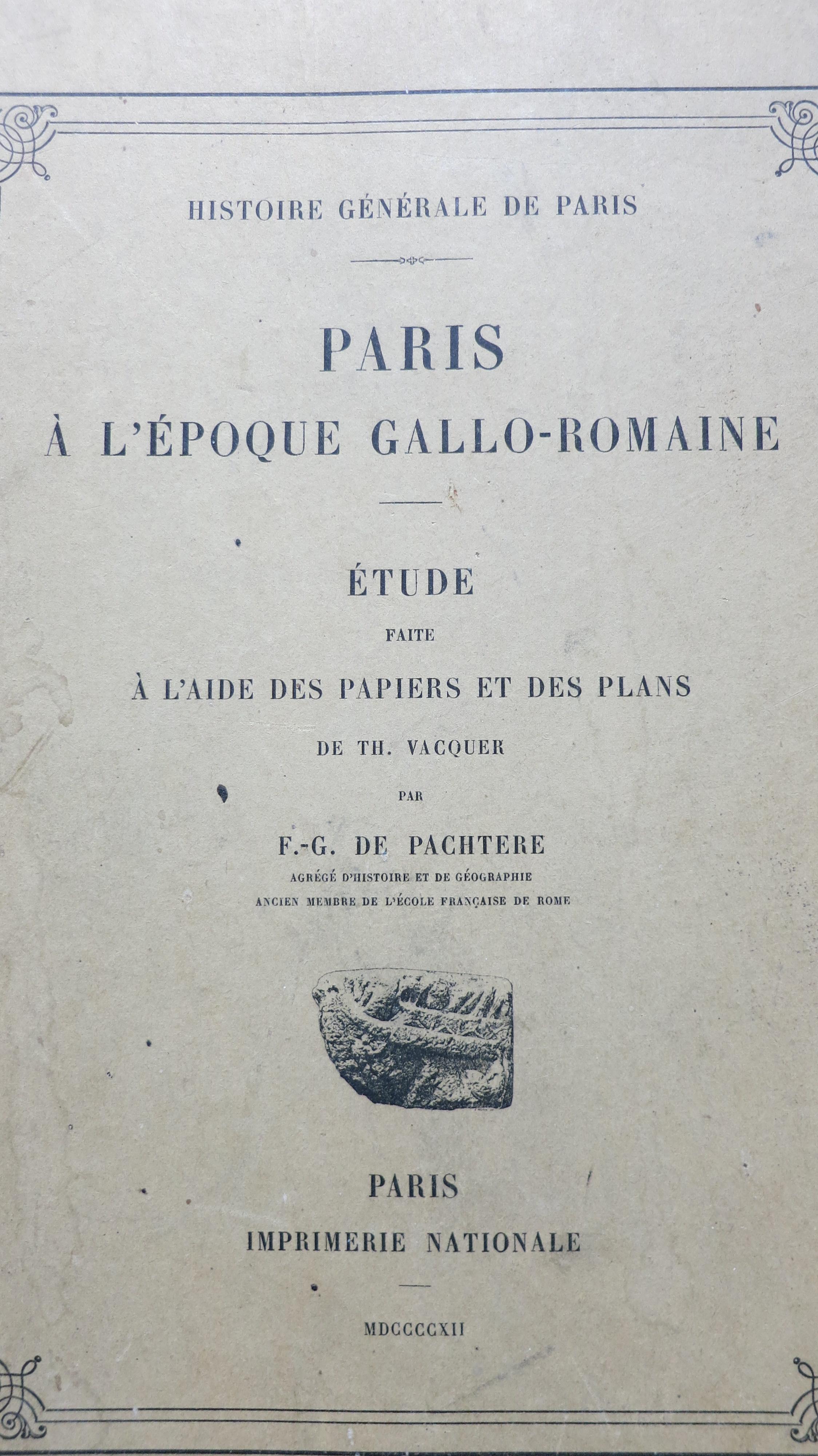 Paris à l'époque Gallo-Romaine