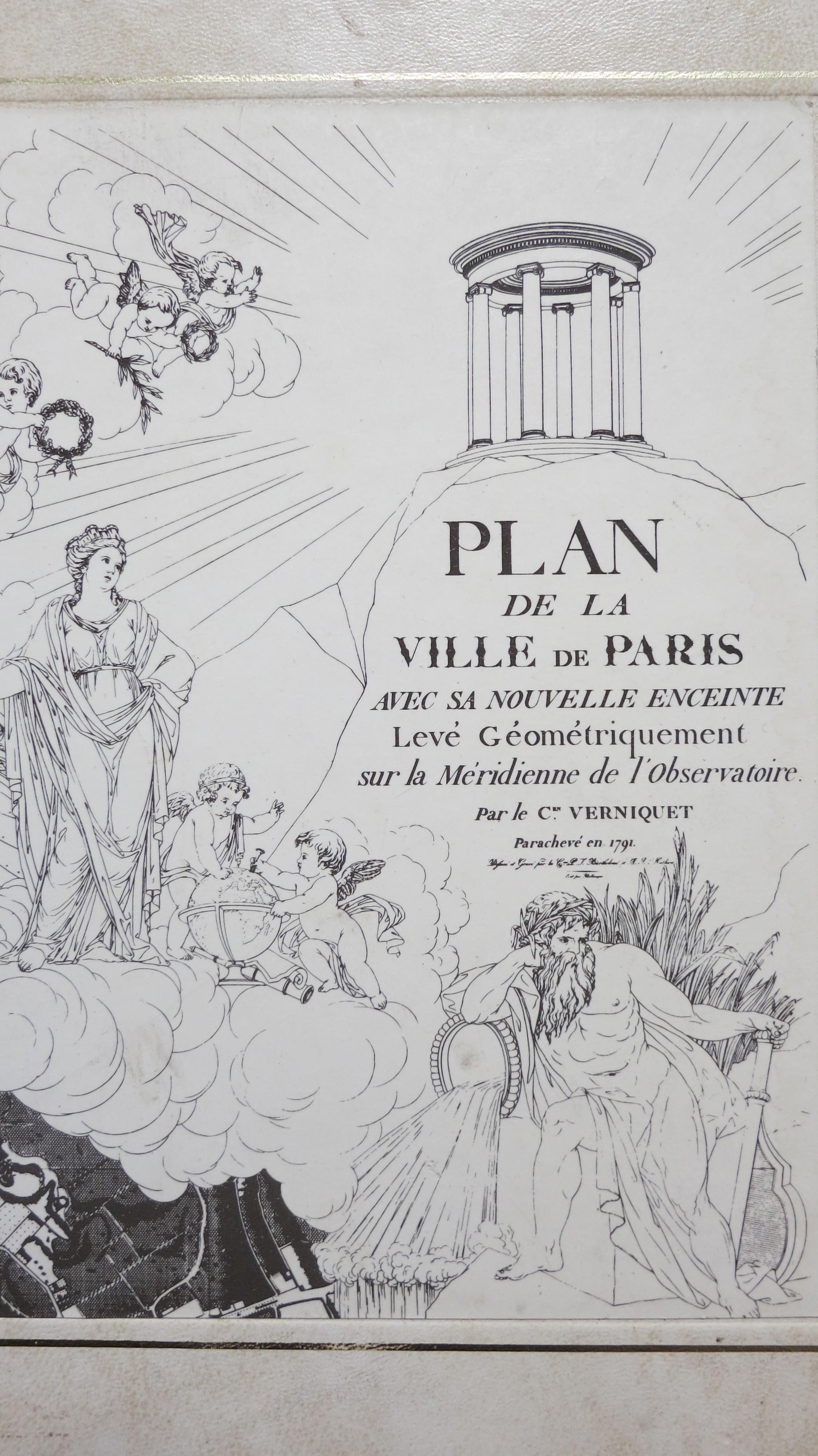 Edme Verniquet architecte et auteur du grand plan de Paris