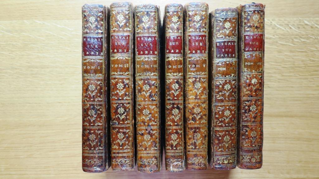 Essais historiques sur Paris. Edition en 7 volumes.