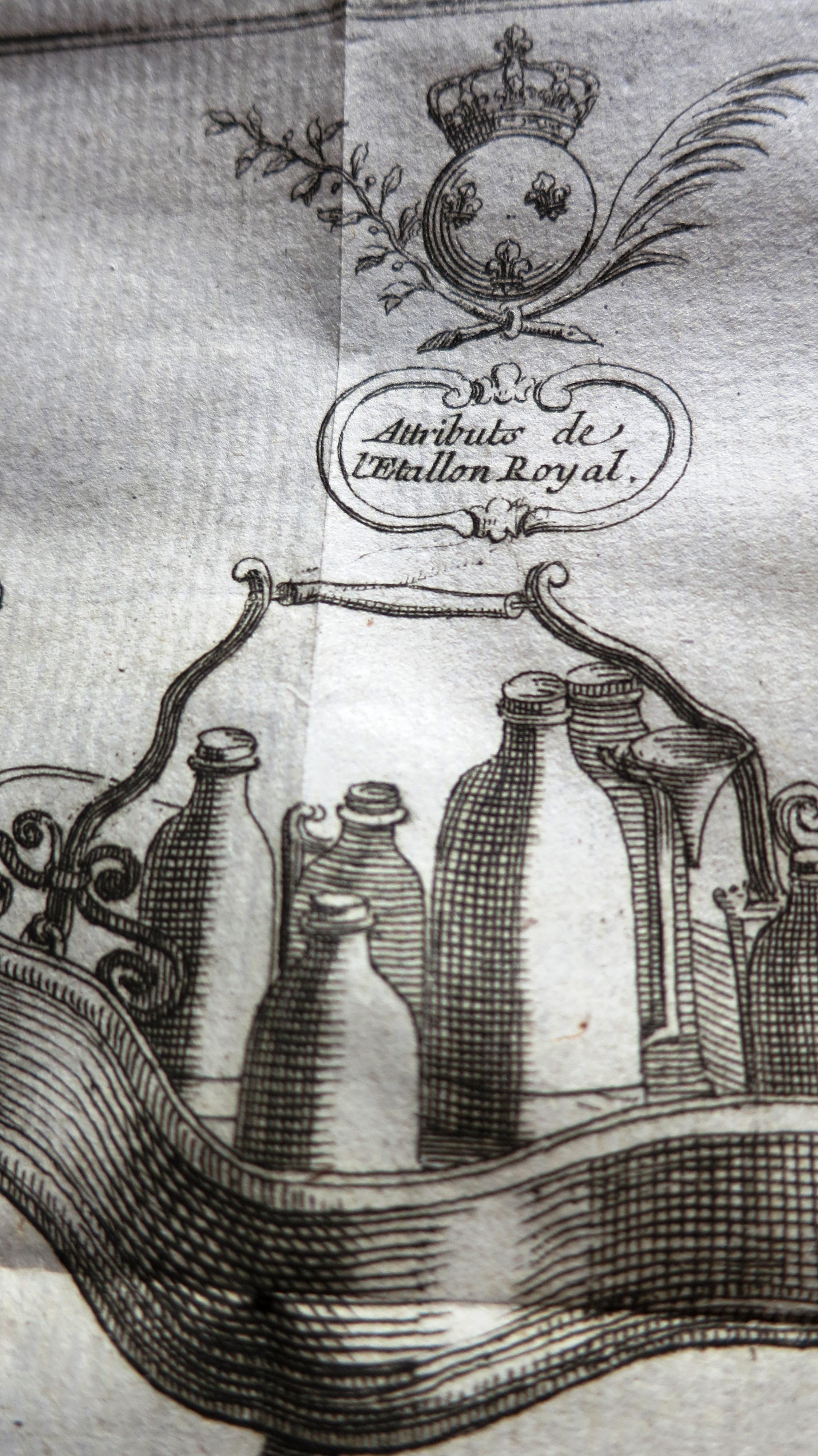 Recueil des statuts des Maîtres chandeliers & des maîtres Huilliers de la ville de Paris