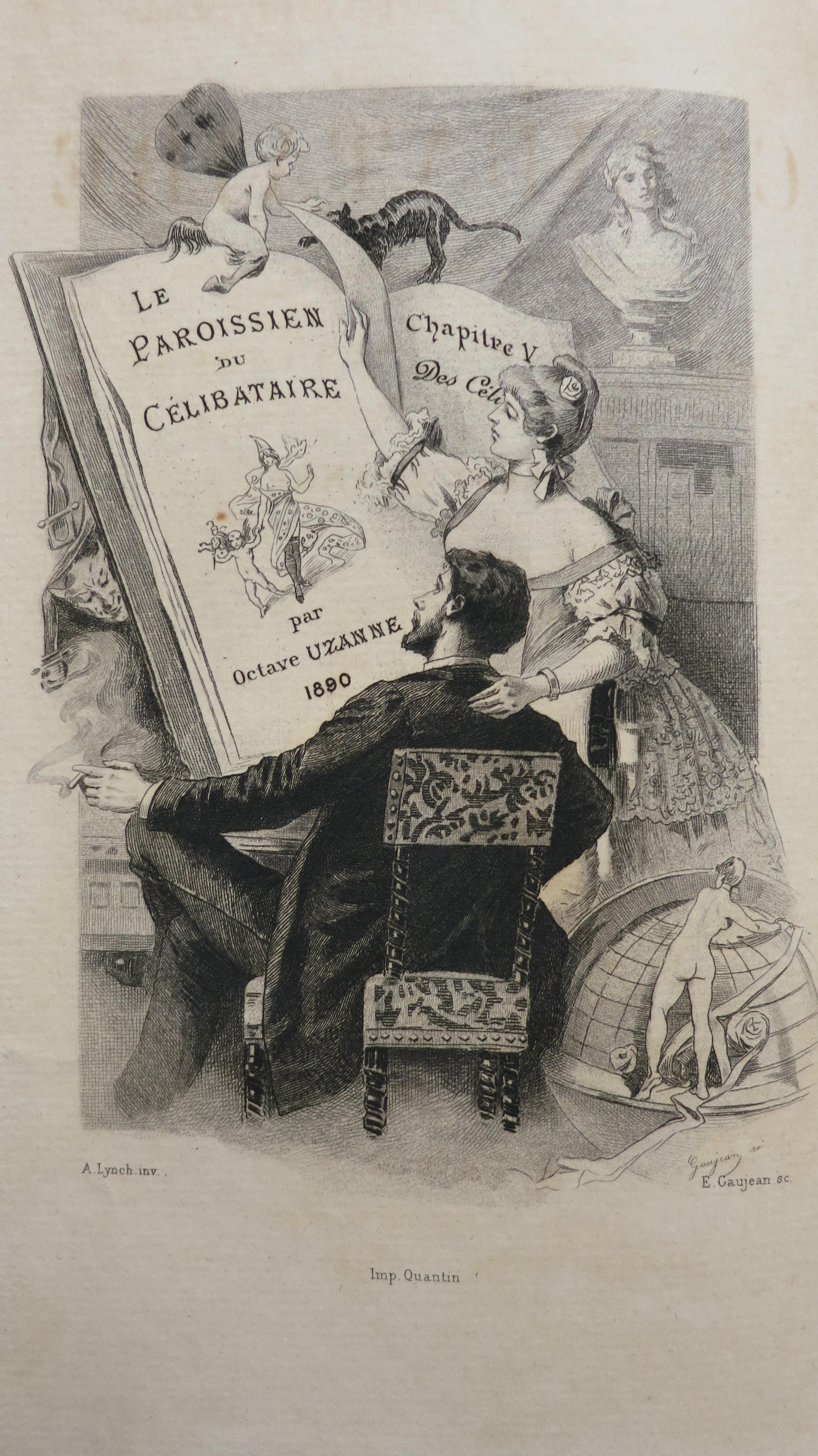 Le Paroissien du célibataire. Observations physiologiques et morales sur l'état du célibat.