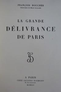 La grande délivrance de Paris