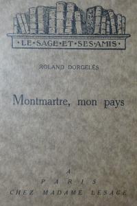Montmartre mon pays édition originale