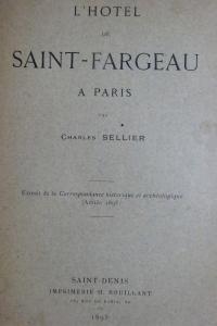 L'hôtel de Saint-Fargeau à Paris