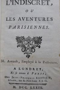 L'indiscret ou les Aventures parisiennes