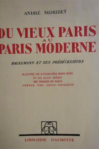 Du vieux Paris au Paris moderne