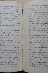 Manuscrit. Paris, Tableau moral et philosophique