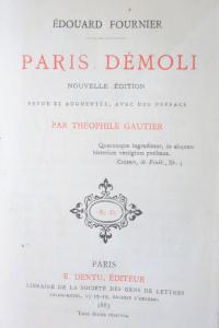 Paris démoli