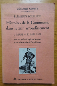 Eléments pour une Histoire de la Commune