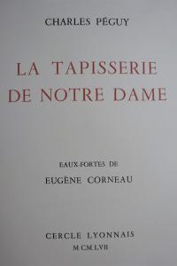 La Tapisserie de Notre-Dame 1957