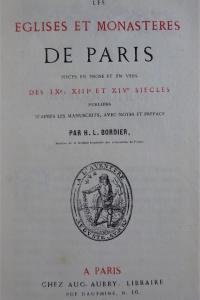 Les églises et monastères de Paris