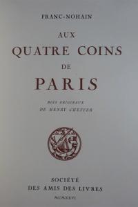 Aux quatre coins de Paris