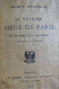 Le premièr siège de Paris An 52