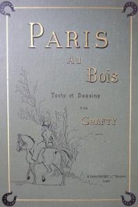 Paris au Bois. Reliure éditeur.