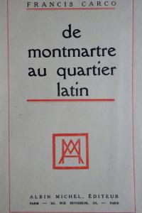 De Montmartre au Quartier Latin 1927