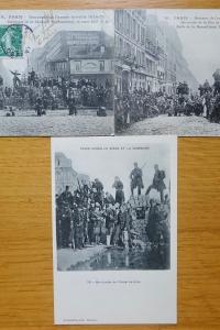 Commune de Paris. Barricades et commémoration