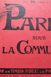 Paris sous la Commune par un témoin fidèle la photographie