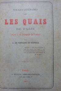 Voyages littéraires sur les Quais de Paris Broché