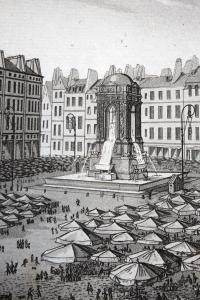 Atlas. Tableau historique et pittoresque de Paris