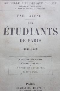 Les Etudiants de Paris (1845-1847)