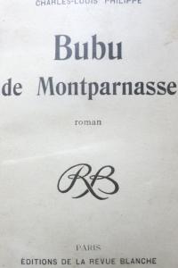 Bubu de Montparnasse 1901