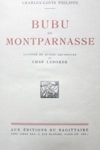 Bubu de Montparnasse 1924