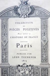 Ordonnance faicte pour les funérailles célébrées à Paris le 24 avril 1498