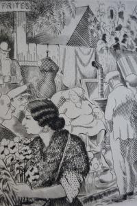 Marché aux puces. Illustrations de Gromaire, Goerg, Makowski, Dubreuil, Ralli, Per Krohg
