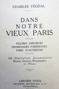Dans notre vieux Paris