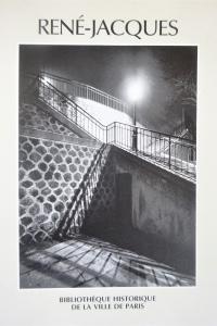René-Jacques. Un illustrateur photographie Paris