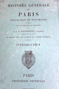 Histoire générale de Paris Introduction