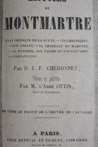 Histoire de Montmartre