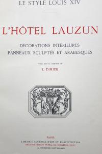 L'Hôtel  Lauzun