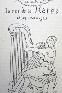 La rue de la Harpe et ses parages