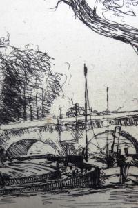 La Seine à travers Paris
