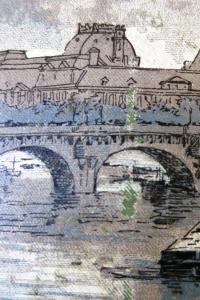 La Seine à travers Paris Illustrations de Fraipont