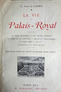 La vie au Palais Royal