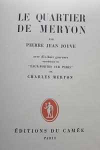 Le quartier de Meryon.